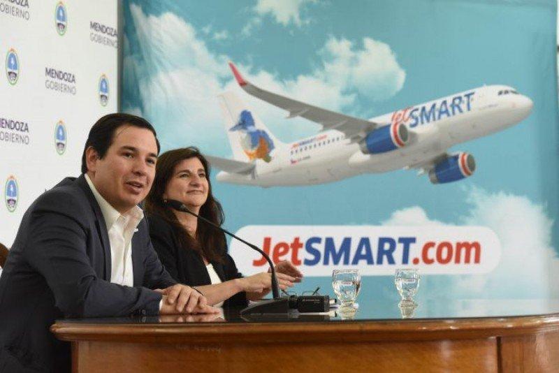 JetSmart comenzará con sus vuelos a Mendoza en diciembre