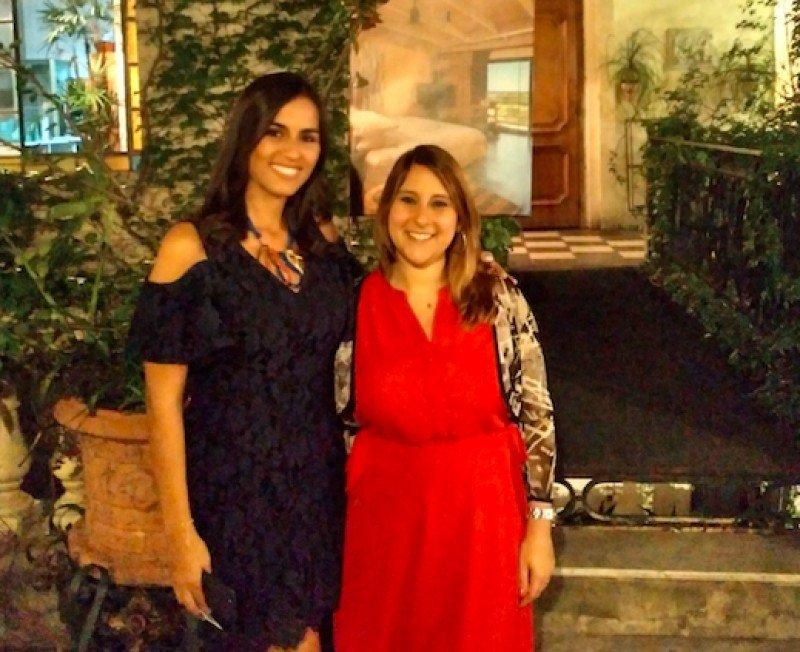 Izq a dcha: Michelle Raoult (Gerente de Ventas de Atelier de Hoteles) y Carla Polise (Directora Comercial de Promovere, que tendrá la representación en Argentina).
