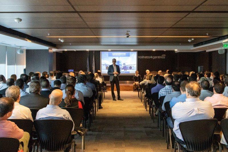 El presidente del Grupo, Luis Malvido, presentó el plan ante 200 miembros de la empresa.