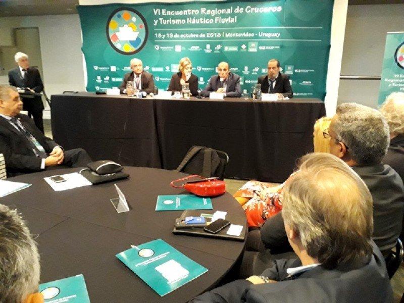 Apertura en Montevideo del IV Encuentro Regional de Cruceros.