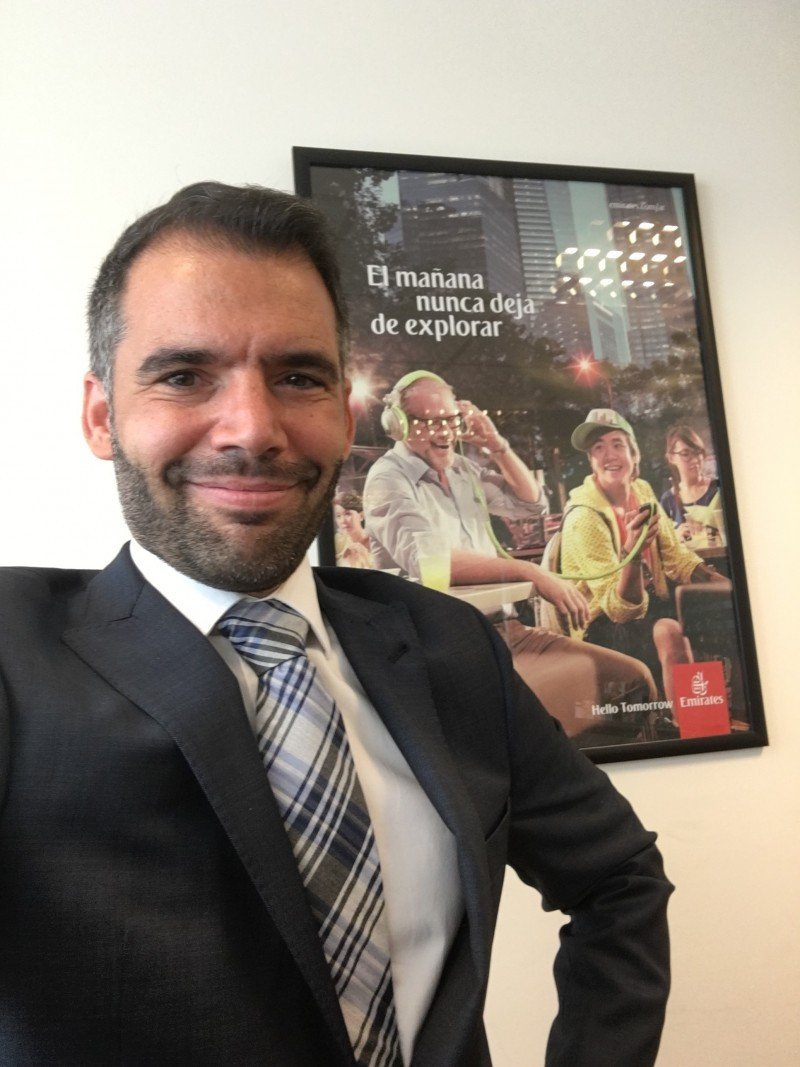 Emirates designa nuevo Gerente de ventas en Argentina