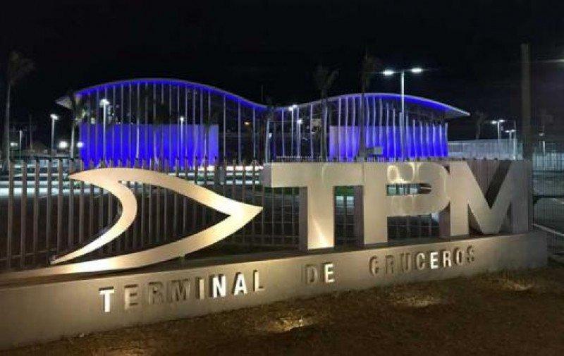 Nueva terminal de cruceros en Manta.