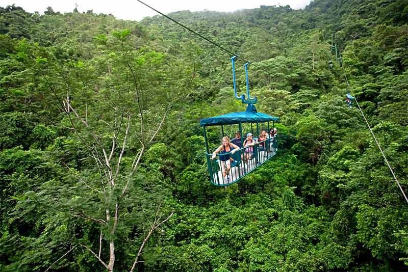 Turismo aventura y de naturaleza en Sarapiquí.