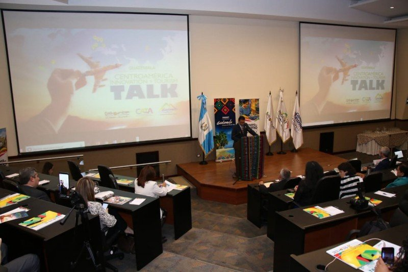 Jornada de Centroamérica Innovation Tourism Talk. Foto: INGUAT.