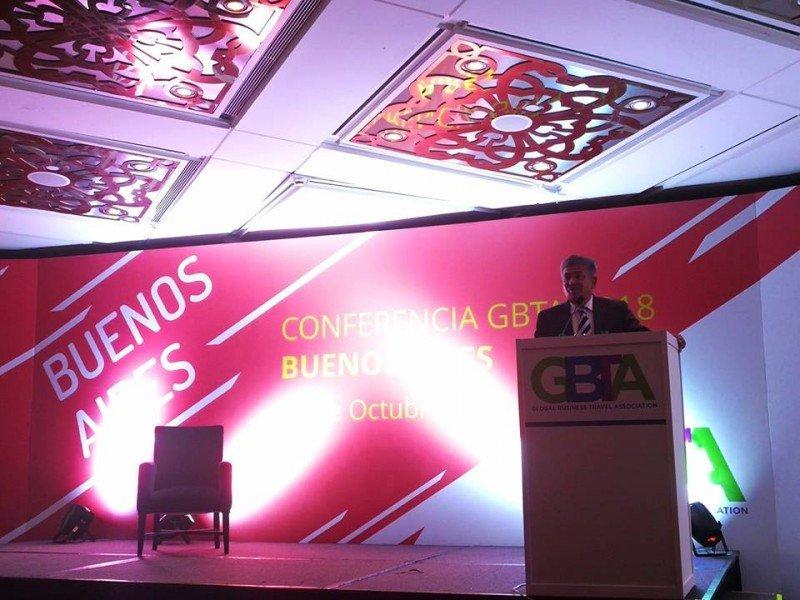 Horacio Cristaldo, travel manager de Gestión Compartida y presidente de GBTA Argentina.