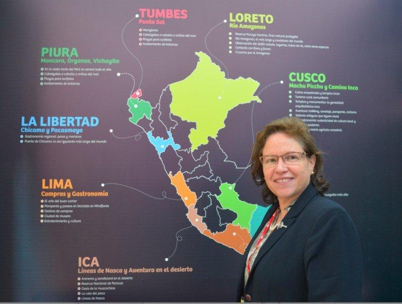 Sandra Doig, Subdirectora de Turismo Receptivo de PromPerú.