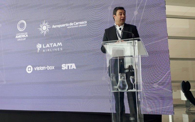 Martín Eurnekian, presidente de Corporación América y titular de ACI en Montevideo.