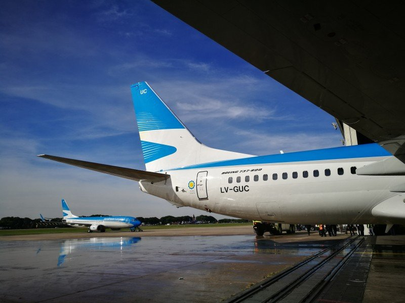 El 40% de la oferta de verano de Aerolíneas Argentinas estará en Patagonia