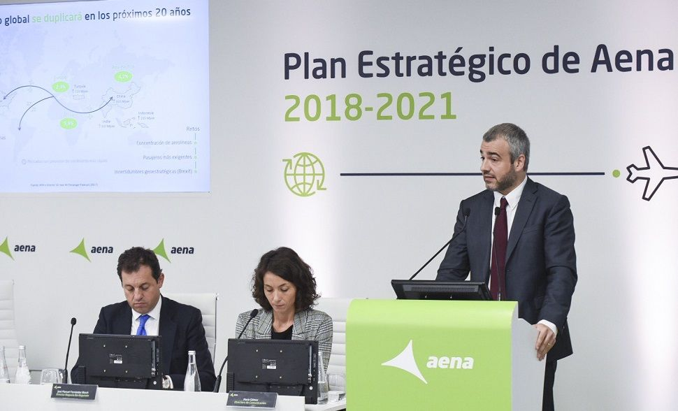 Maurici Lucena, presidente y CEO de Aena.
