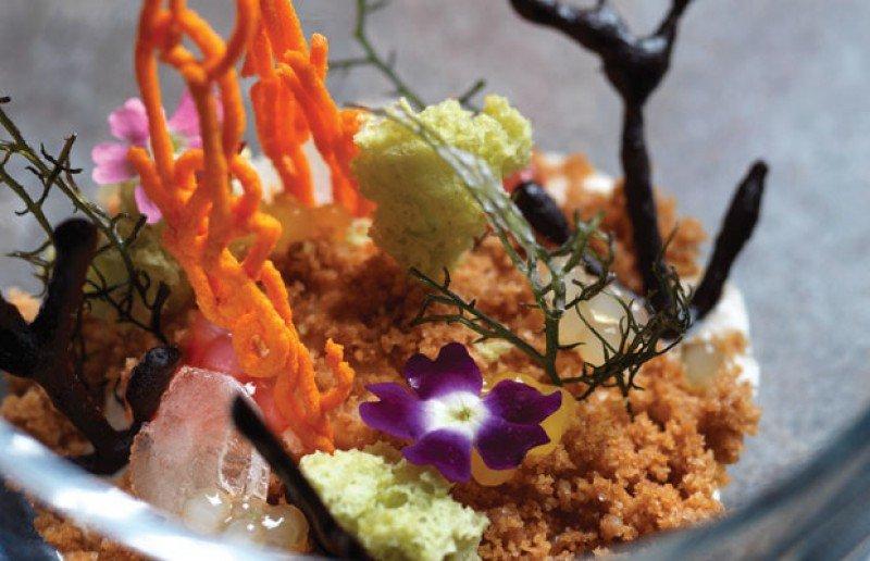 La sofisticación de los platos está respaldada en largos procesos de investigación.