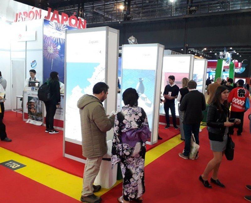 Japón estuvo presente en la FIT 2018, fortaleciendo su presencia en Latinoamérica a través de su stand país.