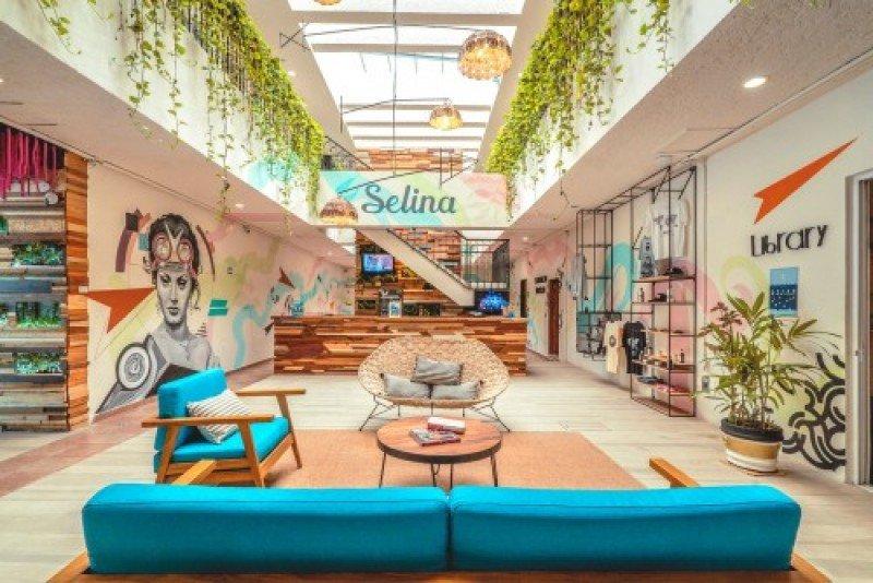Hotel Selina en Cancún.