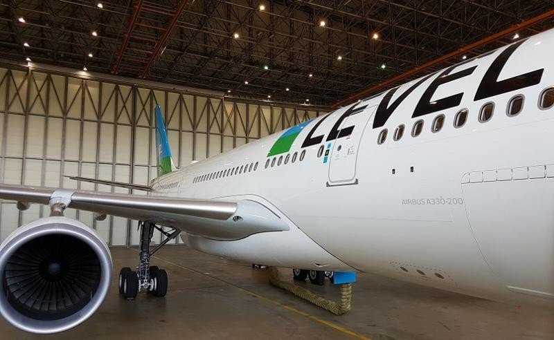 Level empezará volando dos veces por semana a Santiago de Chile y aumentará la frecuencia a cuatro vuelos semanales a finales de julio.