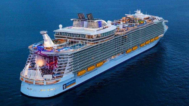 El crucero más grande del mundo ya está en su puerto base en Miami