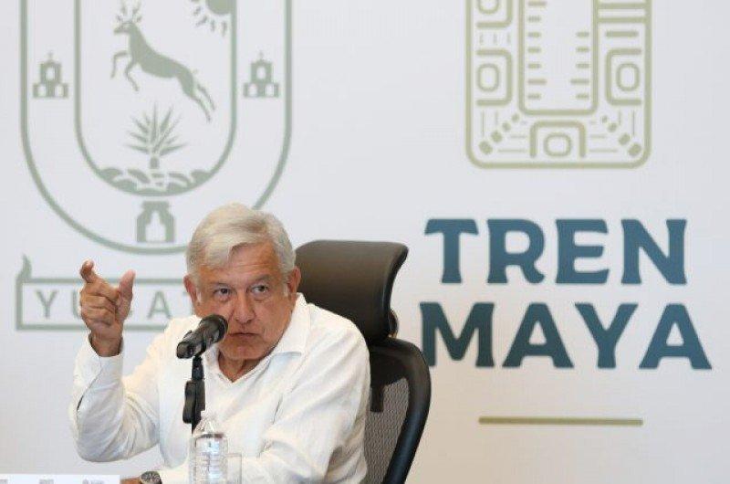 Anuncian el inicio de la construcción del Tren Maya en el sur de México.