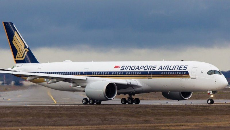 El A350-900 de Singapore Airlines (Foto: Clement Allong).