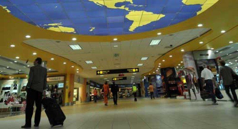 Aeropuerto Jorge Chávez de Lima.