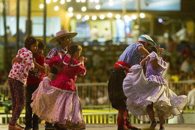 En Corrientes y el litoral argentino el chamamé es la música folklórica por excelencia. Foto: Ciudad.gob.ar