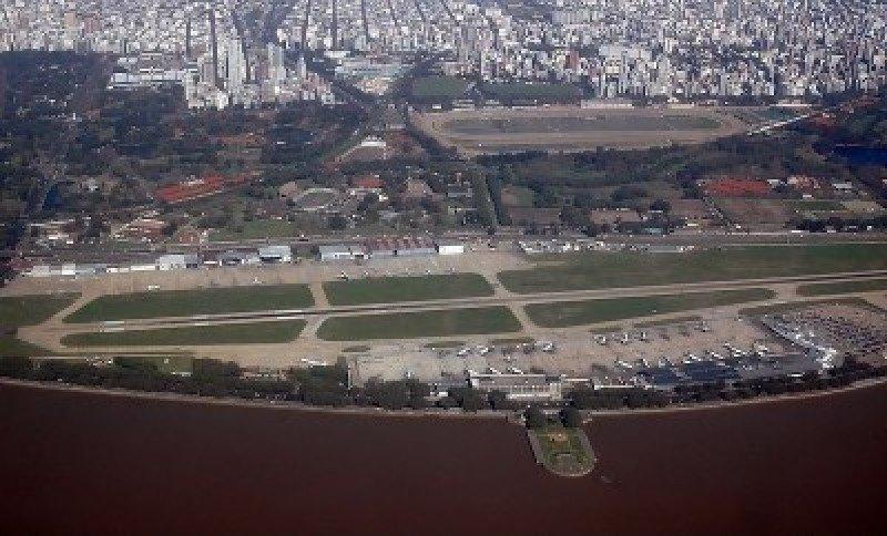 Cierra Aeroparque, El Palomar y Buquebús por el G20