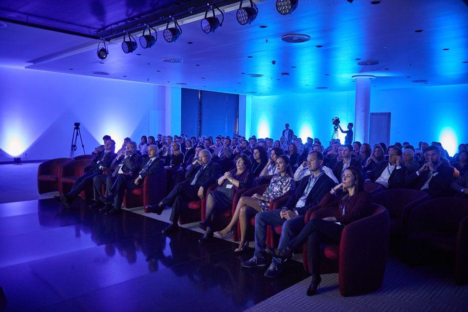 Acto de presentación de la nueva marca Hipotels, celebrado en Mallorca.