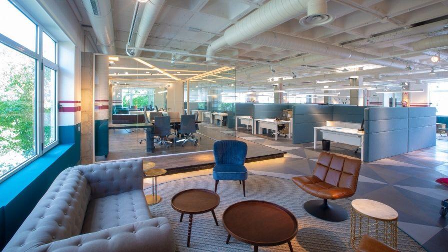 Nueva sede de Viajes El Corte Inglés Empresas en Madrid.