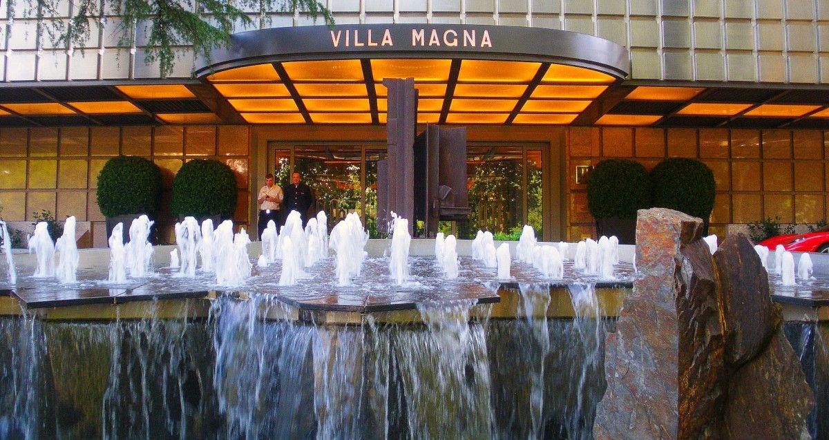 El hotel Villa Magna es uno de los más lujosos de la ciudad de Madrid.