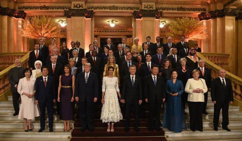 Los líderes del G20 compartieron un show y una cena en el Teatro Colón.