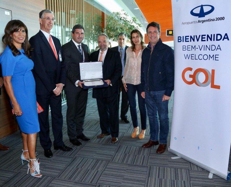 GOL inauguró nuevo vuelo entre Brasilia y Buenos Aires