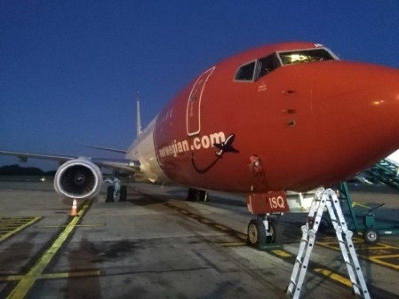 Norwegian Argentina recibe su tercer avión y se prepara para la ruta a Bariloche