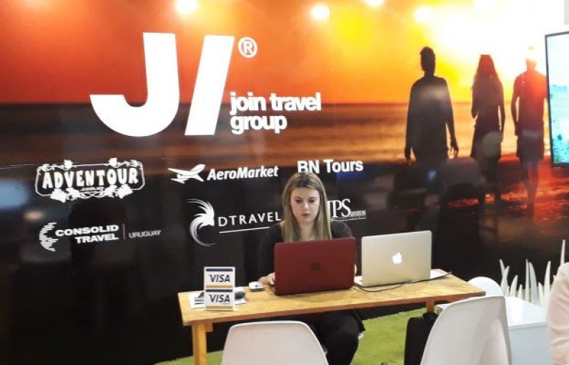 Join Travel Group se presentó en sociedad el fin de semana en la feria ExpoViajes de Montevideo.