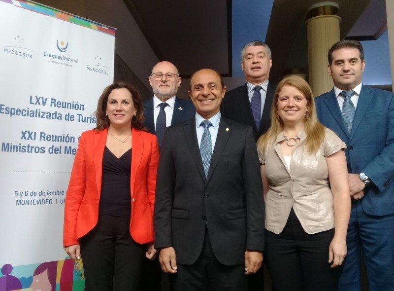 Los representantes de FEDESUD se reunieron en Montevideo.