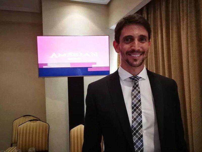 Roberto Amengual, presidente de Amérian Hoteles.