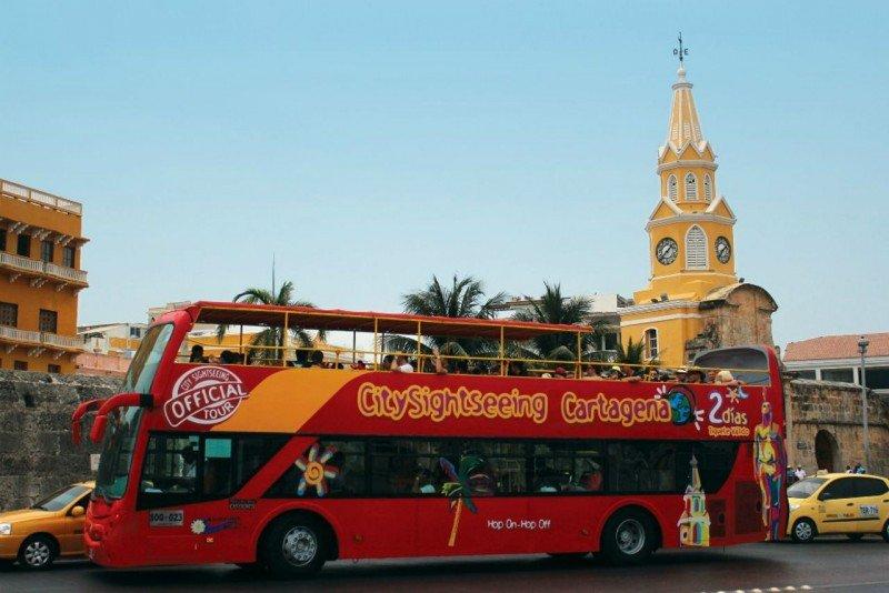 CitySightSeeing opera el Bus Turístico de la ciudad de Cartagena.