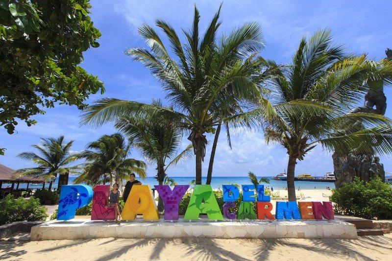 Playa del Carmen, uno de los destinos destacados de Quintana Roo.