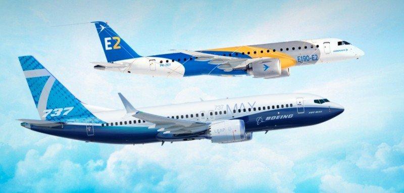 Embraer y Boeing aprueban creación de una compañía valuada en US$5.250 millones