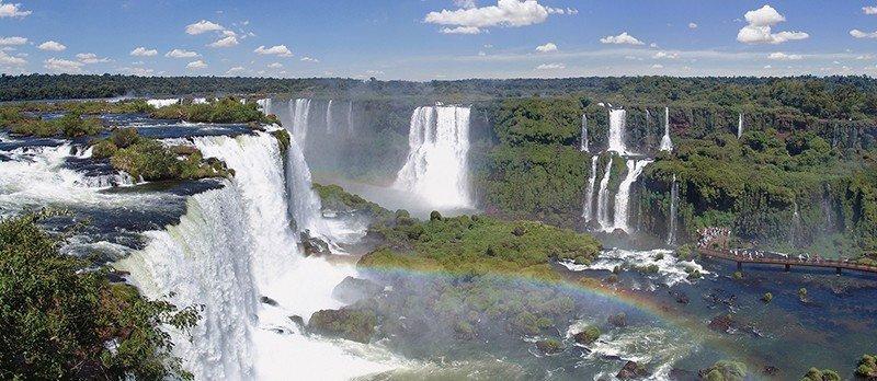 Brasil: Cataratas de Iguaçú bate en 2018 récord de visitantes y de extranjeros