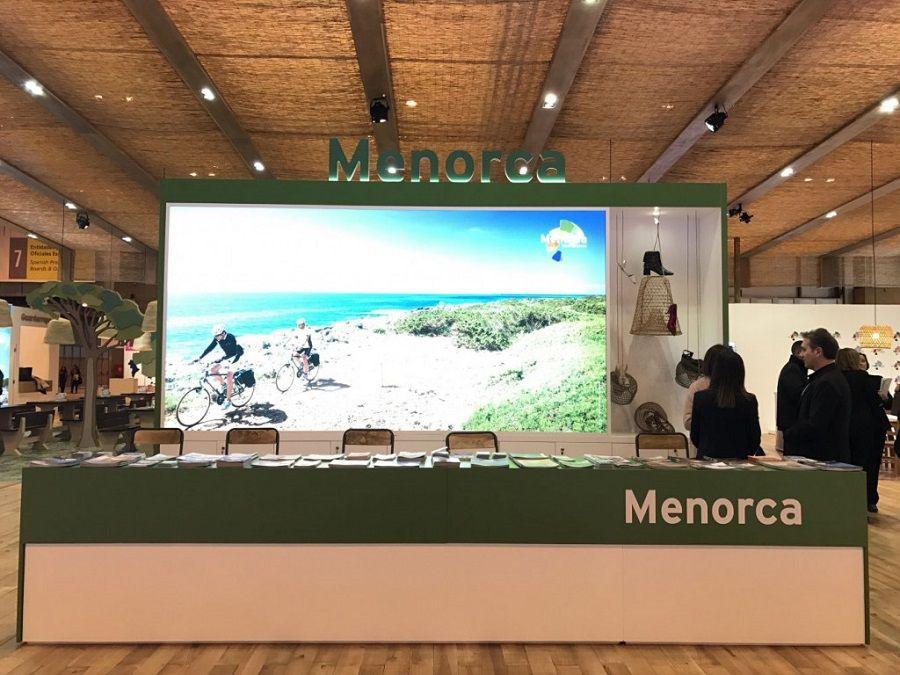 Stand de Menorca en Fitur.