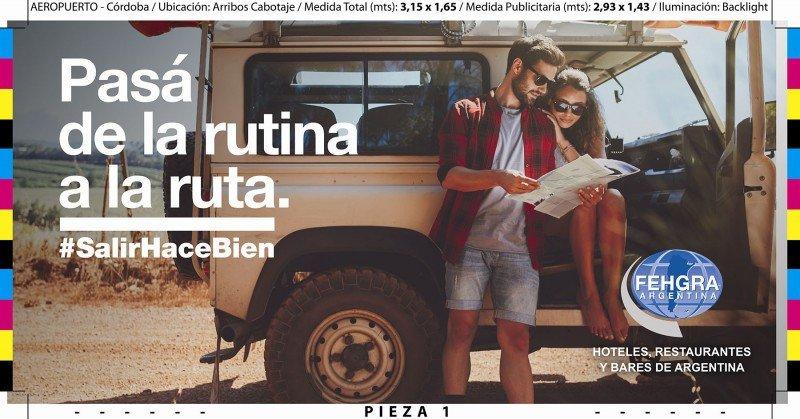 FEHGRA lanza una campaña para potenciar el turismo en Argentina