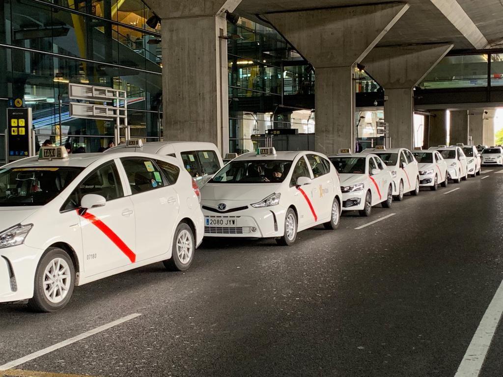 Resultado de imagen de taxis madrid