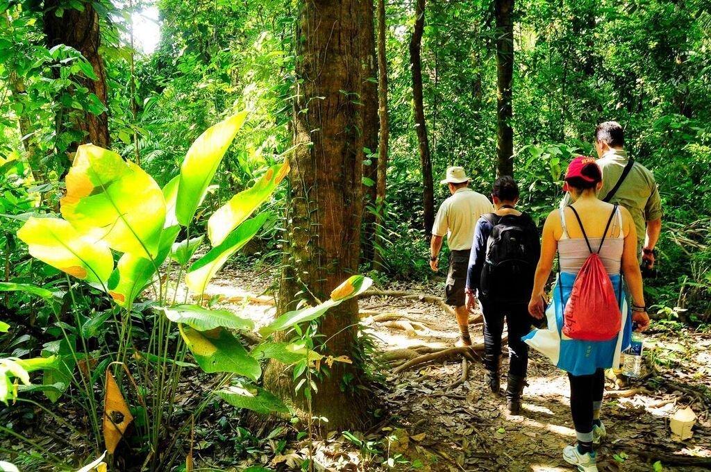 Turistas en Costa Rica