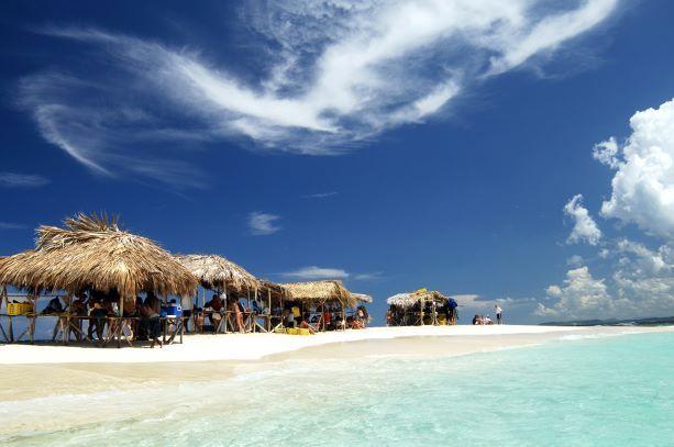 Cayo Arena. Foto: Ministerio de Turismo de República Dominicana