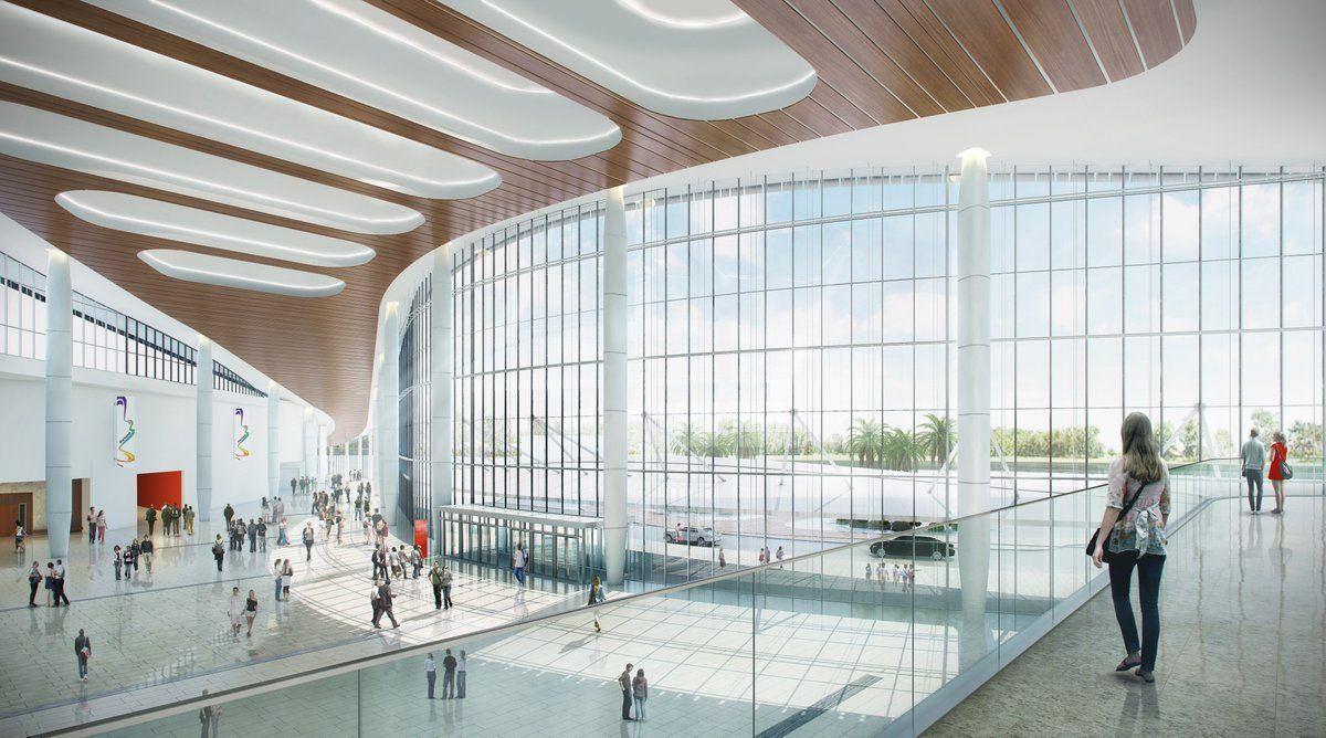 Proyecto del Centro de Convenciones de Amador
