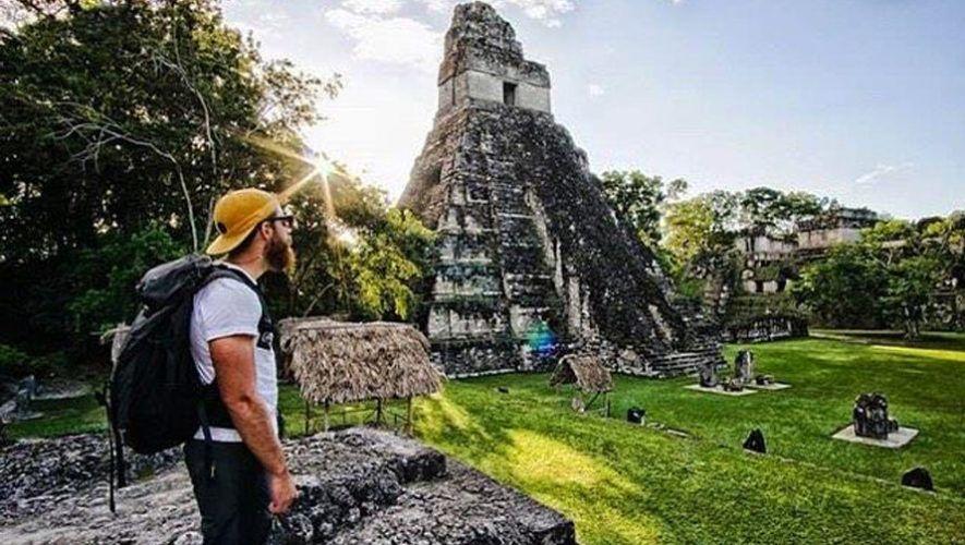 parque arqueológico de Tikal, al norte de Guatemala
