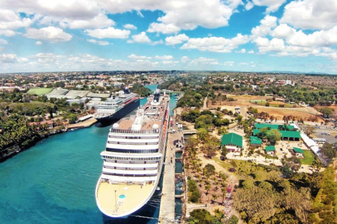 Cruceros en el puerto dominicano de La Romana. Foto: Mitur RD