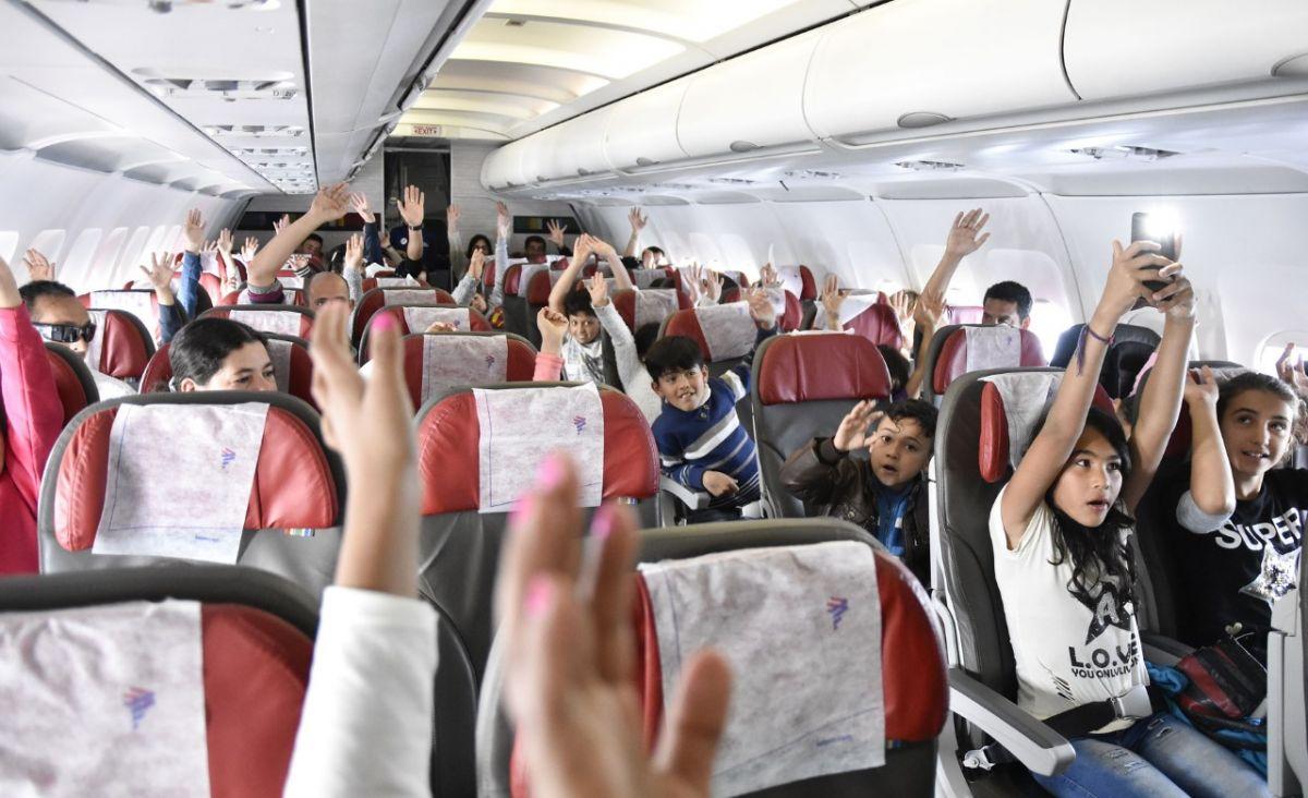 Mi primer vuelo, campaña premiada en la categoría RSE