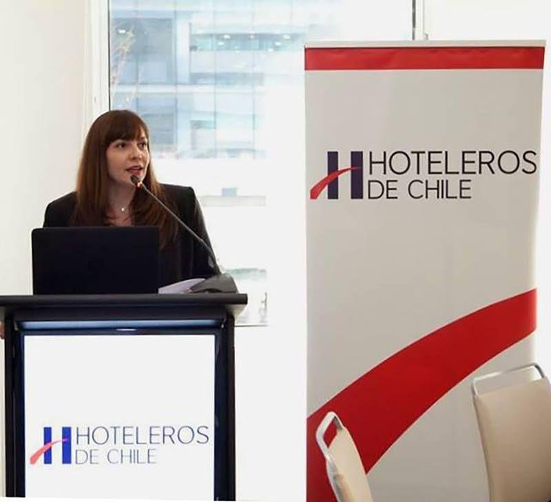 Paulina Sierra, gerenta general de Hoteleros de Chile