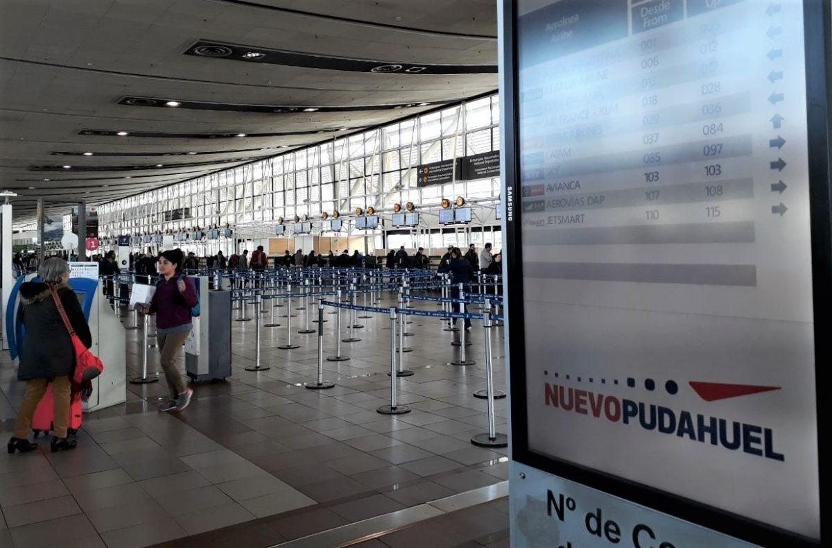 Aeropuerto Nuevo Pudahuel de Santiago de Chile