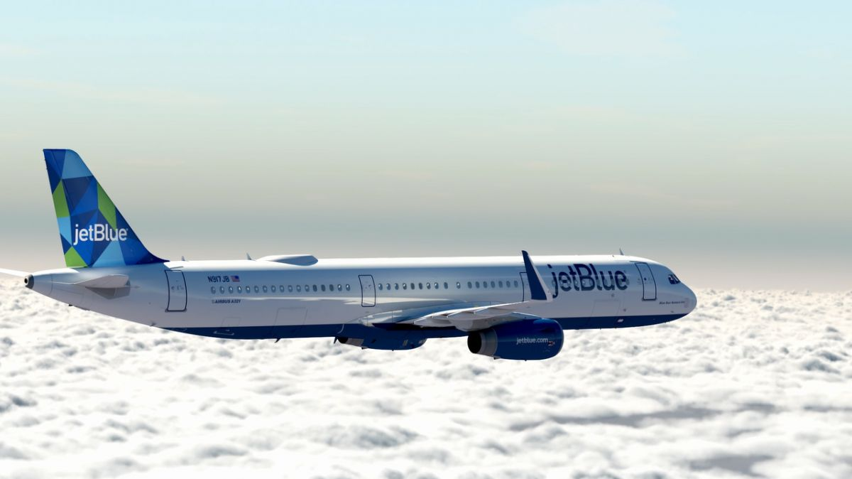 JetBlue ordenó a Airbus 13 aviones A321LR