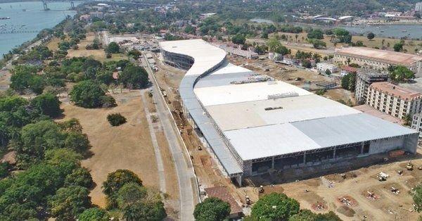 El 87% de la obra civil del Centro de Convenciones Amador está concluida. Foto: Prensa