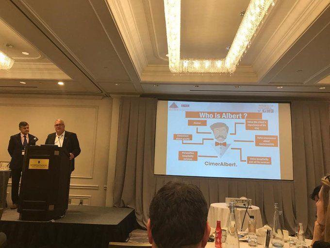 Presentación de UMIH France en el primer encuentro Reform BnB de Nueva York